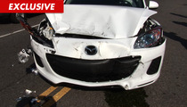 Rachel Hunter Calls 911 After NASTY Car Wreck ... All Caught on Tape!!!