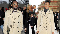 Will.i.am or Female Olympian -- Who Wore It Better?