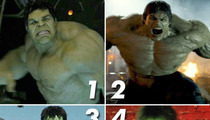 Hulk vs. Hulk vs. Hulk vs. Hulk: Who'd You Rather?