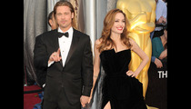 Brangelina -- The King & Queen Have Arrived!