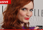 Christina Hendricks -- My Phone Was HACKED ... But Those Boobs Aren't Mine!