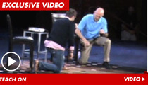 Tim Tebow Teaches Pastor How to Tebow