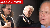 Rush to Rush Limbaugh -- STOP USING OUR MUSIC ... or Else!