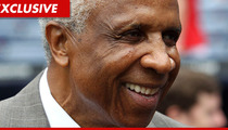 MLB Legend Frank Robinson Receives Medical Attention at Lakers Game