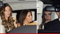Eva Longoria -- Birthday Night Out with Kate Beckinsale & Victoria Beckham