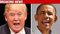 Trump Congratulates Obama -- 'Job Very Well Done'