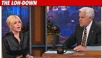 Lindsay's 'Tonight Show' Standing O