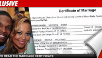 Chris Bosh -- The Official MARRIAGE Certificate