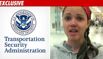 TSA -- Ex-Miss USA Was Treated Like Anyone Else
