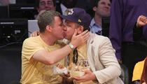Will Ferrell -- Lakers KISS CAM with John C. Reilly