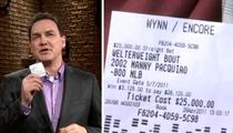 Norm Macdonald -- $25,000 Bet on Manny Pacquiao