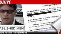 Charlie Sheen -- The $3,000,000 Sugar Daddy Offer