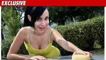 OctoMom -- BIKINI CAR WASH to Save House!!!