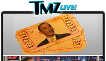 TMZ Live: Obama's Lotto HOOKS Gamblers