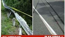 Ryan Dunn Crash Scene FOOTAGE -- Twisted Metal