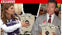 Arnold and Maria Will Split Hundreds of Millions