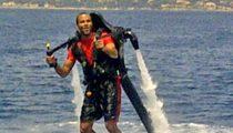 Tony Parker -- INSANE $5,000 Jet Pack Ride