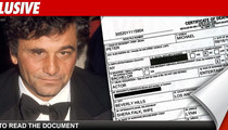 Peter Falk -- Official Cause of Death Released