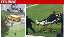 Nike Ad Stuntman CRUMPLES After Helicopter Fall