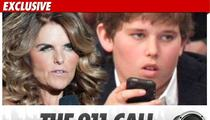 Maria Shriver 911 -- My Son Can't Move