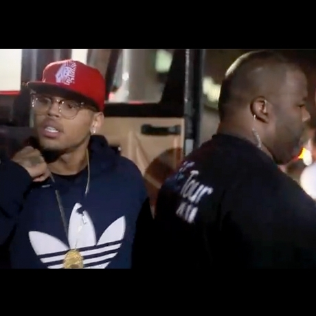 Bow Wow Chris Brown After Party Police Escort Strip Club Pictures