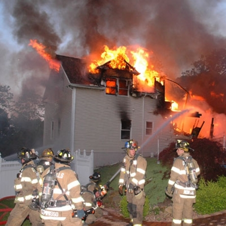 50 Cent House Fire