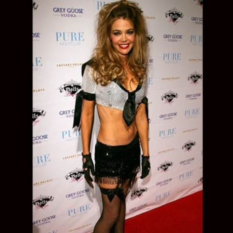 Denise Richards -- The Pussycat Mom should  be Sheen from a distance.