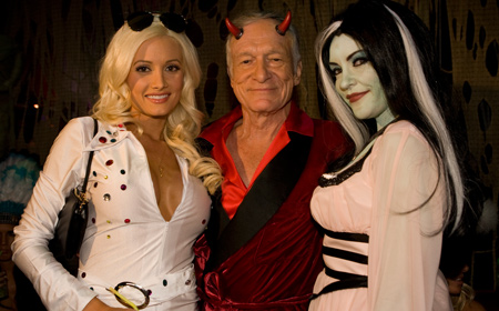 Hef Aint Nothing But A Horn Dog Tmz