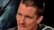 """Bale Apologizes -- """"I Acted Like a Punk"""""""
