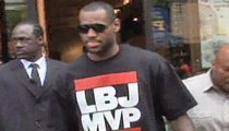 LeBron James -- Most Valuable Loser