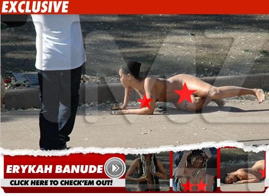 Erika badu nude naked