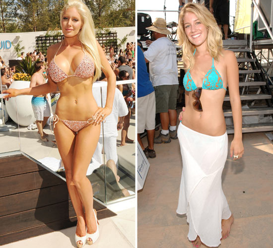 Bikini malfunction montag heidi