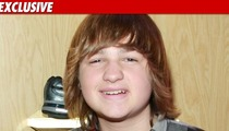Angus T. Jones -- $3,000 Playdate with Miley Cyrus