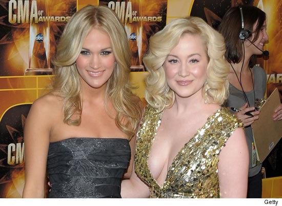 Kellie Pickler And Carrie Underwood Carrie vs. Kellie: Who...