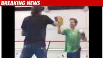 PGA Star Punches Mark Wahlberg