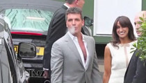 Simon Cowell -- Cool On Cheryl Cole 'X-Factor' Feud
