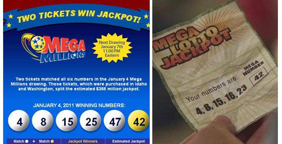 Lost Winning Mega Millions Numbers PAY OFF