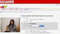 Alleged Ashton Mistress -- The Sweater Sale: Take 2