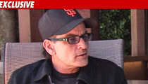 Charlie Sheen -- Frantic to Find His Kids