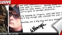 Long Lost Whoopi Letter: Dear Charlie, Quit the Coke