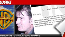 Warner Bros. To Charlie Sheen: Stop Lying About 'Men'