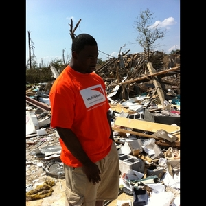Justin Tuck -- Helping Out in Alabama