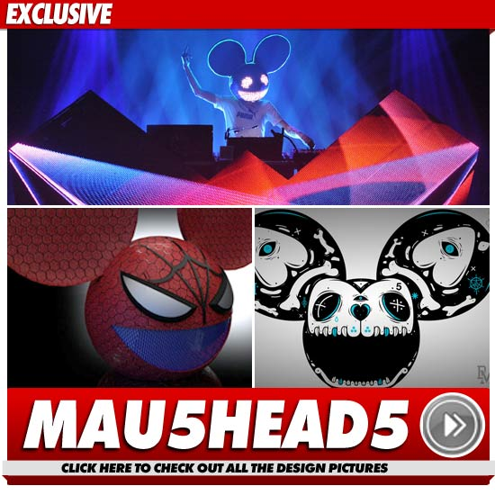 Deadmau5 -- So Many Heads to Choose From