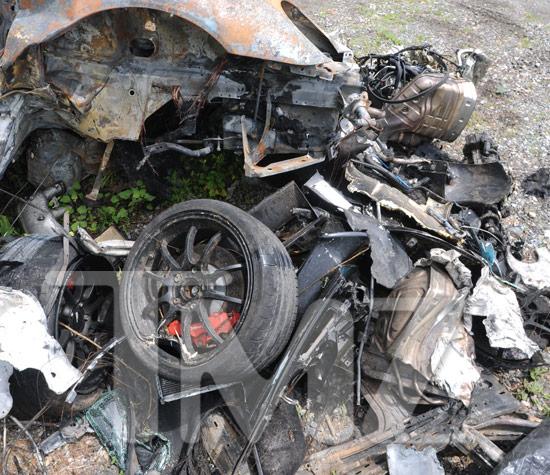 Porsche 911 Gt3 For Sale >> Ryan Dunn's Porsche -- Scorched Heap of Scrap Metal | TMZ.com