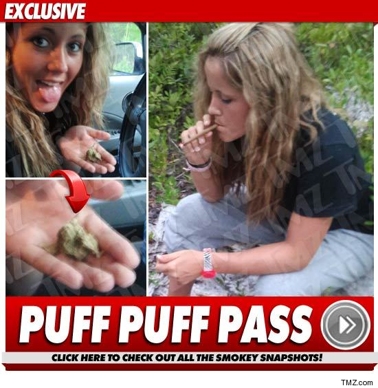 Teen Mom TOKES UP ... After Failing Weed Test