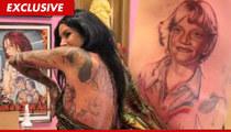 Kat Von D: I'm KEEPING the Jesse James Tattoo