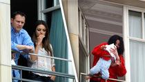 Mila Kunis Dangles From MJ's Hotel Balcony