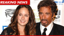 Al Pacino's Daughter Arrested for DWI
