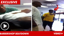 Carlton from 'Fresh Prince' BREAKS UP Barber Shop Brawl