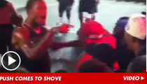 NBA Star Shoves Fan IN THE FACE During Street Game